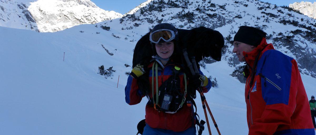 """Permalink auf:""""Auf dem Weg zur Lawinen mit den Ski"""""""